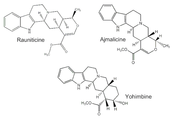 Yohimbe compounds